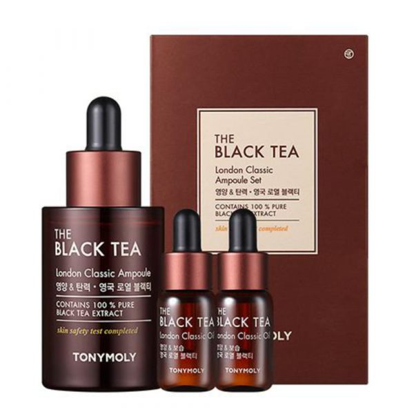 THE BLACK TEA LONDON CLASSIC AMPOULE SET