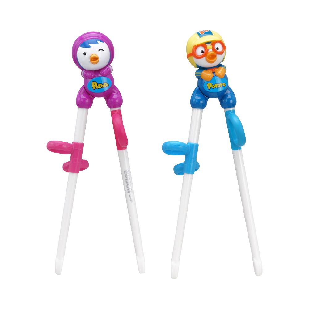 Детские обущающие палочки для еды Pororo Edison Training Chopsticks