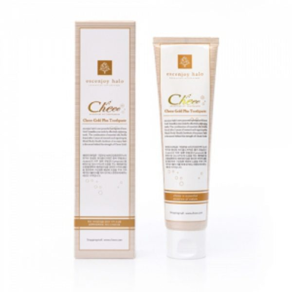 Зубная паста ESCENJOY HALO Cheee Gold Plus Toothpaste
