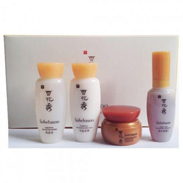 Мини-набор средств для увлажнения кожи лица SULWHASOO basic kit