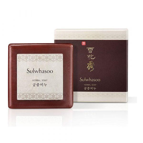 Мыло женьшеневое для умывания SULWHASOO Herbal Soap