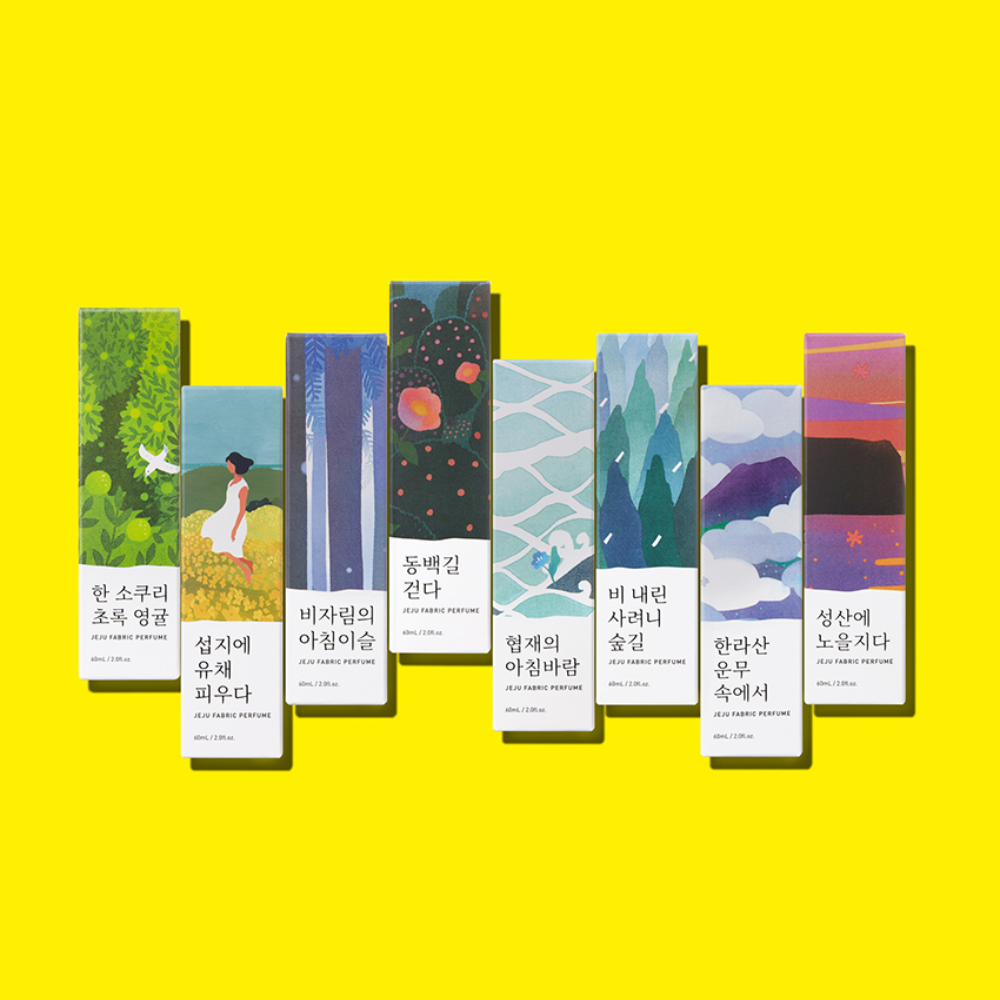Туалетная вода Jeju fabric perfume от Le Plein