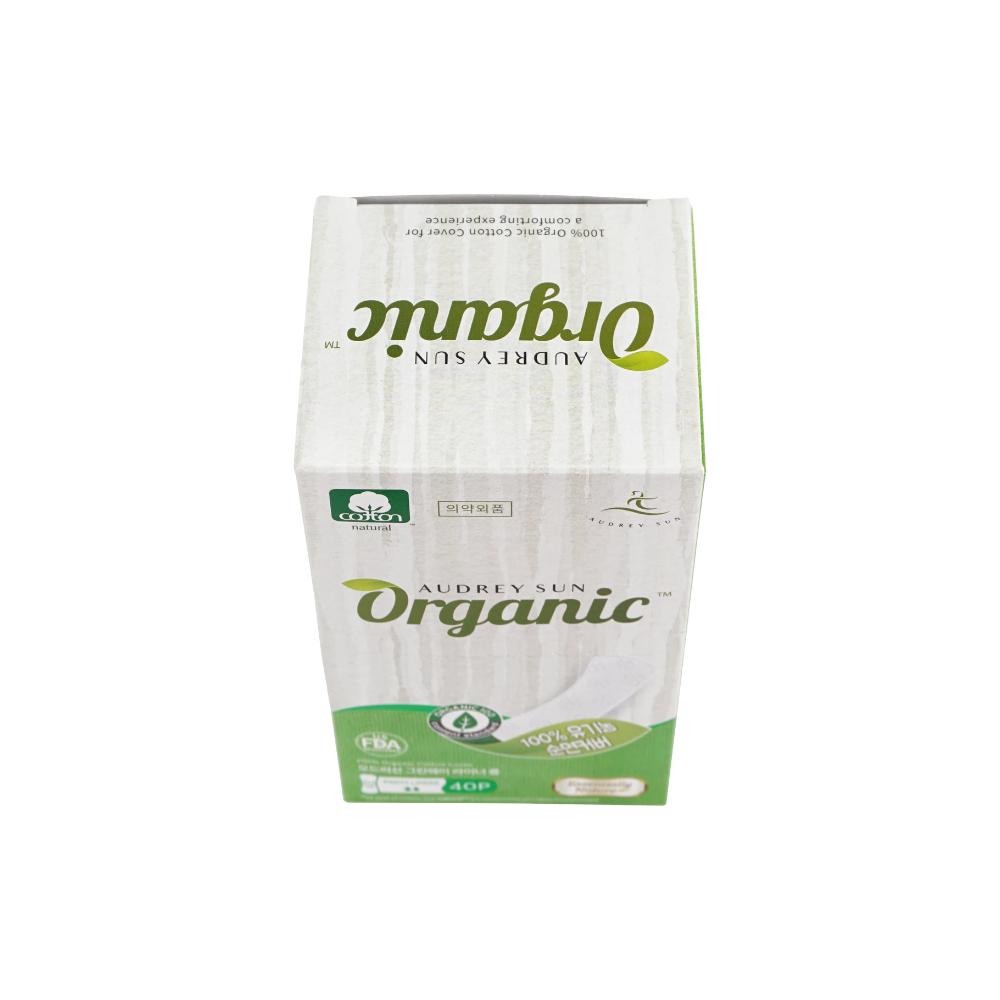 Хлопковая ежедневная прокладка Audreysun Panyliner Organic Pads (40 шт)