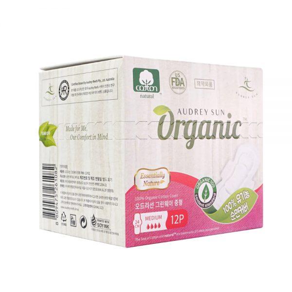 Audreysun Medium Organic Pads