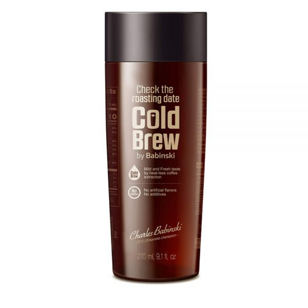 Черный кофе колд бою COLD BREW COFFEE Korea Yakult x BTS