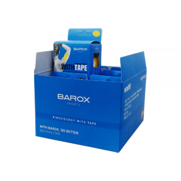 Эластичная тайп-лента для спорта BAROX WithTape