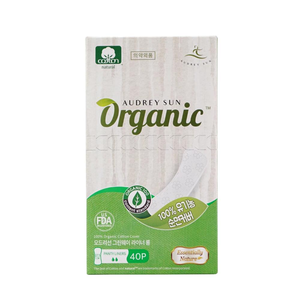 Audreysun Panyliner Organic Pads 1