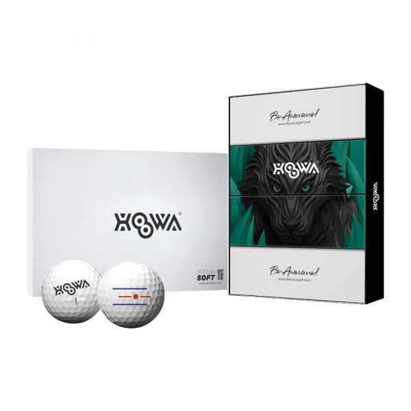 GLOSS WHITE HOOWA Golf Ball