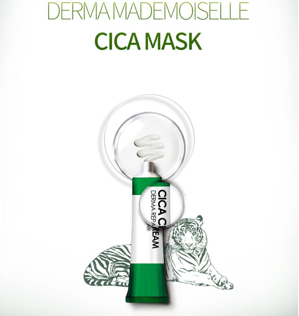 LEHEVE Derma Mademoiselle Cica Mask 1