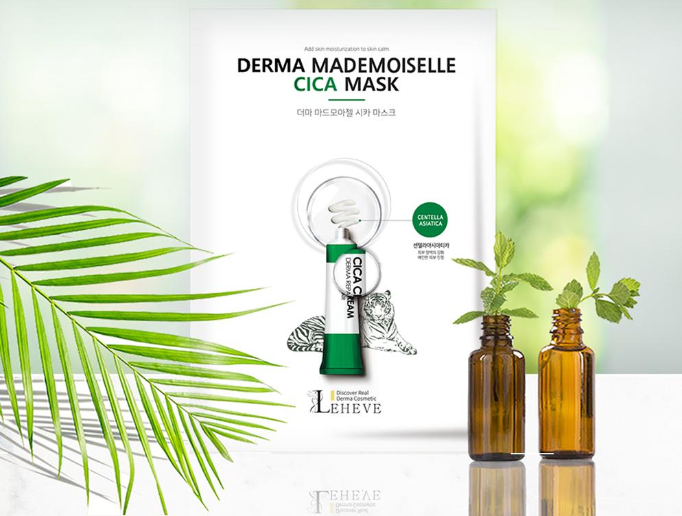 LEHEVE Derma Mademoiselle Cica Mask 2