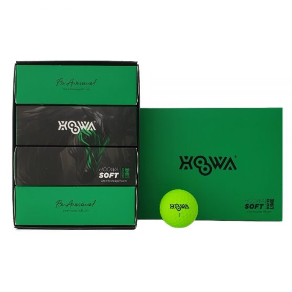 MATTE LIME HOOWA Golf Ball