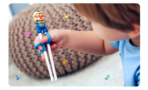 Pororo Edison Training Chopsticks-3