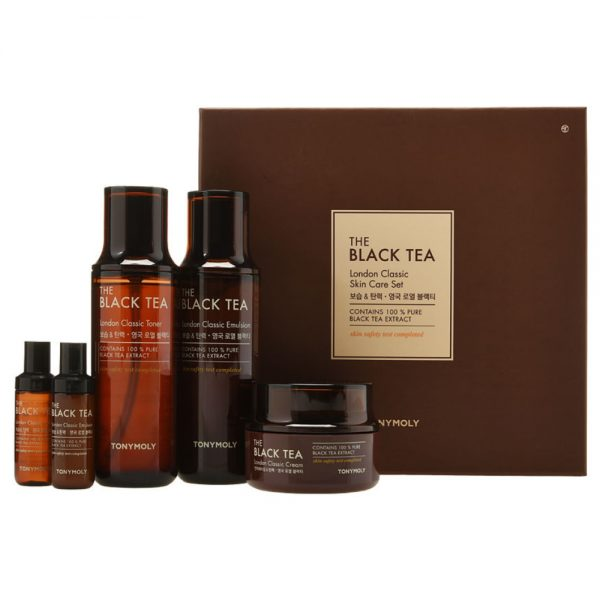 TONYMOLY THE BLACK TEA SKIN CARE 3 SET