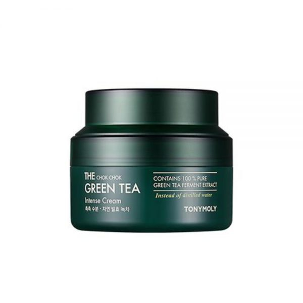 TONYMOLY The Chok Chok Green Tea Intense Cream (60 мл)