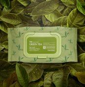 TONYMOLY The Chok Chok Green Tea cleansing tissu