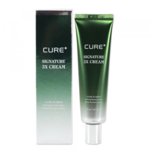Крем против старения кожи с алоэ CURE+ Signature 3x Cream