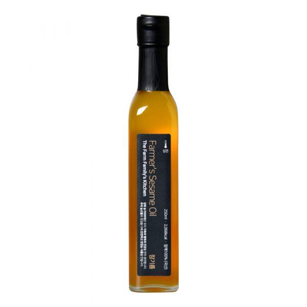 Кунжутное масло The Farm Family's Kitchen Farmer's Sesame Oil 250