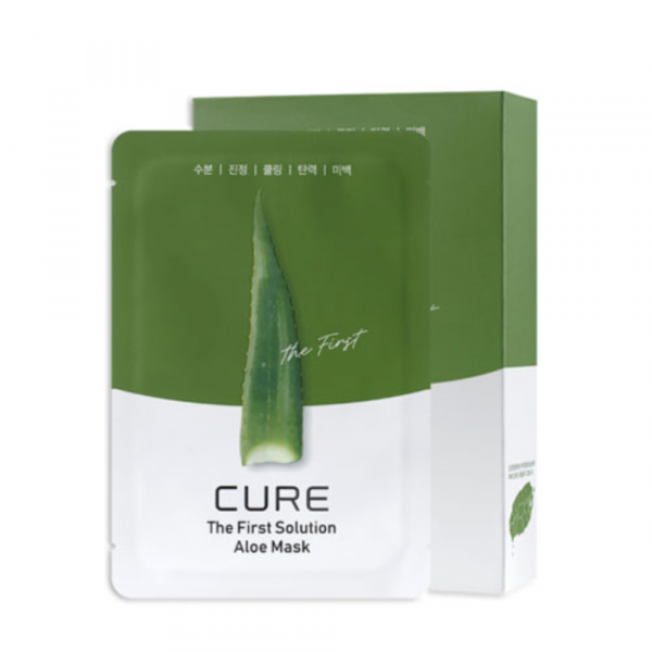 Маска CURE+ The First Solution Aloe Mask Pack
