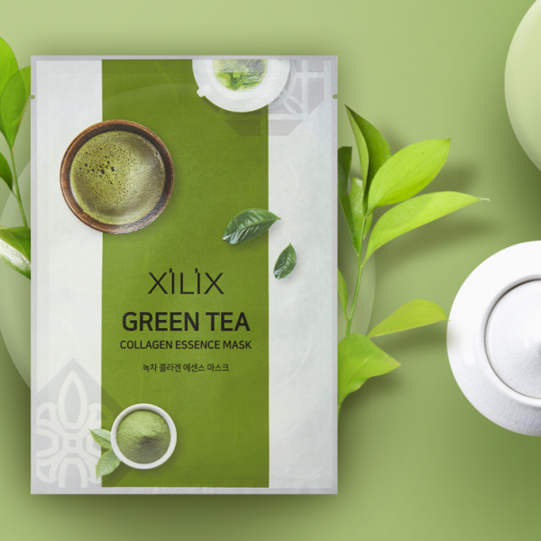 маска xilit зеленый чай