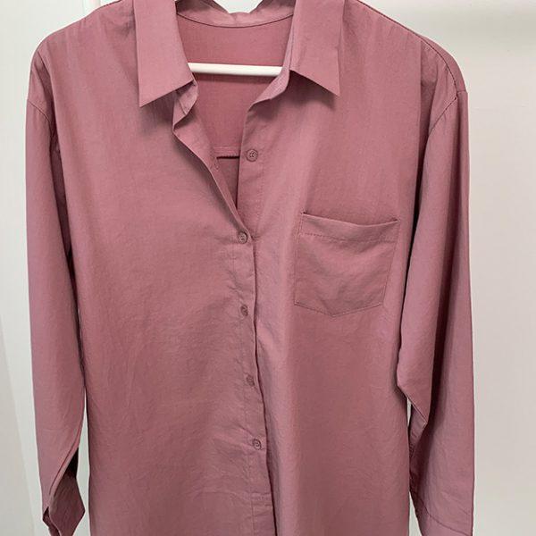 Женская хлопковая рубашка 713 Women's Cotton Shirt 1