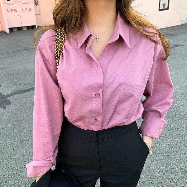 Женская хлопковая рубашка 713 Women's Cotton Shirt 2