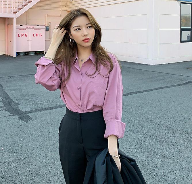 Женская хлопковая рубашка 713 Women's Cotton Shirt 5
