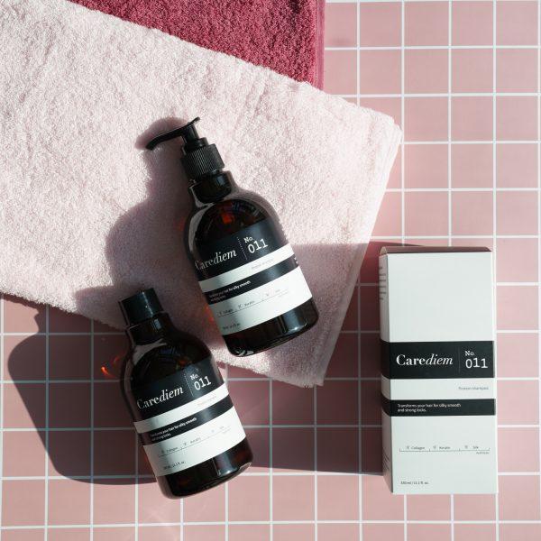 Протеиновый шампунь для волос CAREDIEM Number 011 Shampoo 2