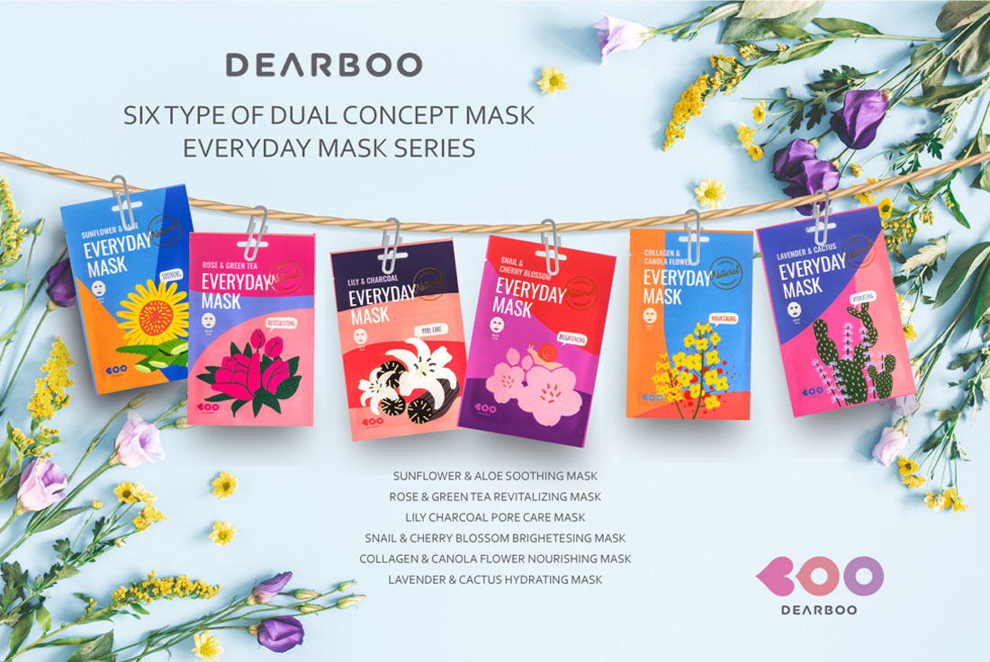 DEARBOO LAVENDOR & CACTUS EVERYDAY MASK 7