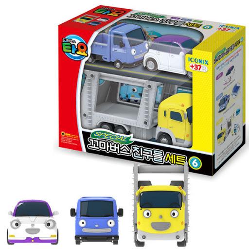 """Тайо особый игрушечный набор """"маленький автобус - друзья"""" сет 6"""